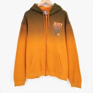 Nike Air Dot Print Just Do It Hoodie Sweatshirt L
